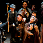 Alex Hill and the 2014 cast of A Christmas Carol