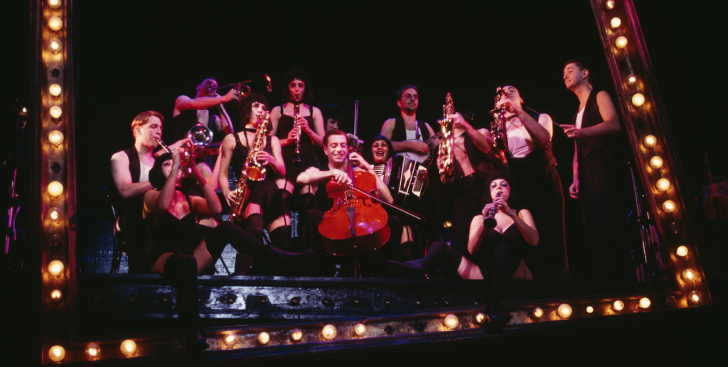 The cast of Cabaret
