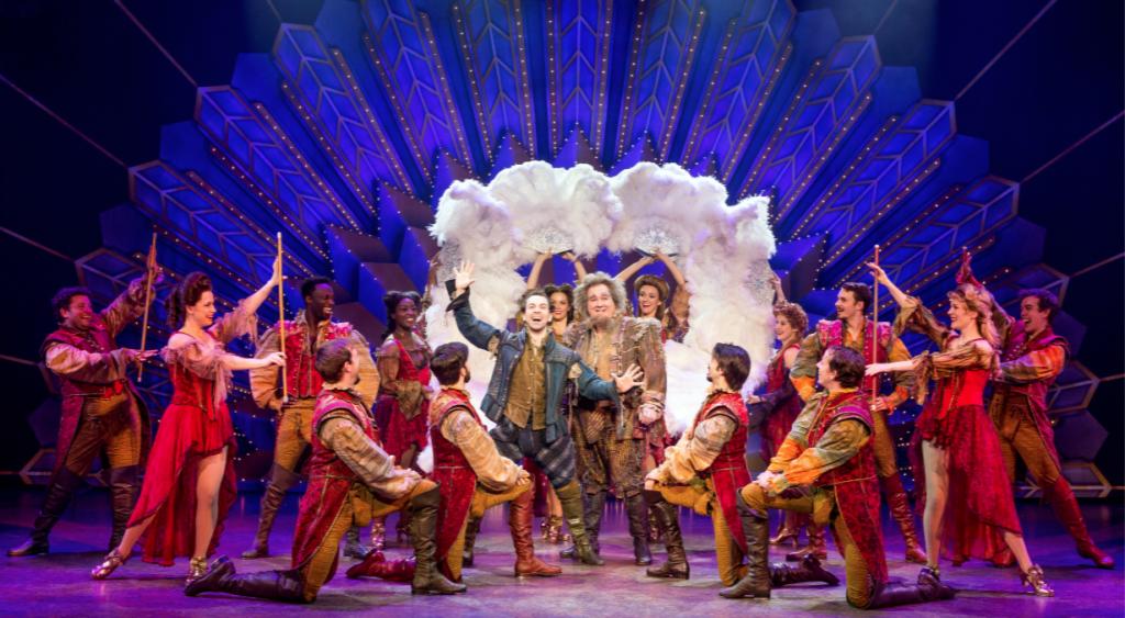 "The cast of Something Rotten! sings ""A Musical"""