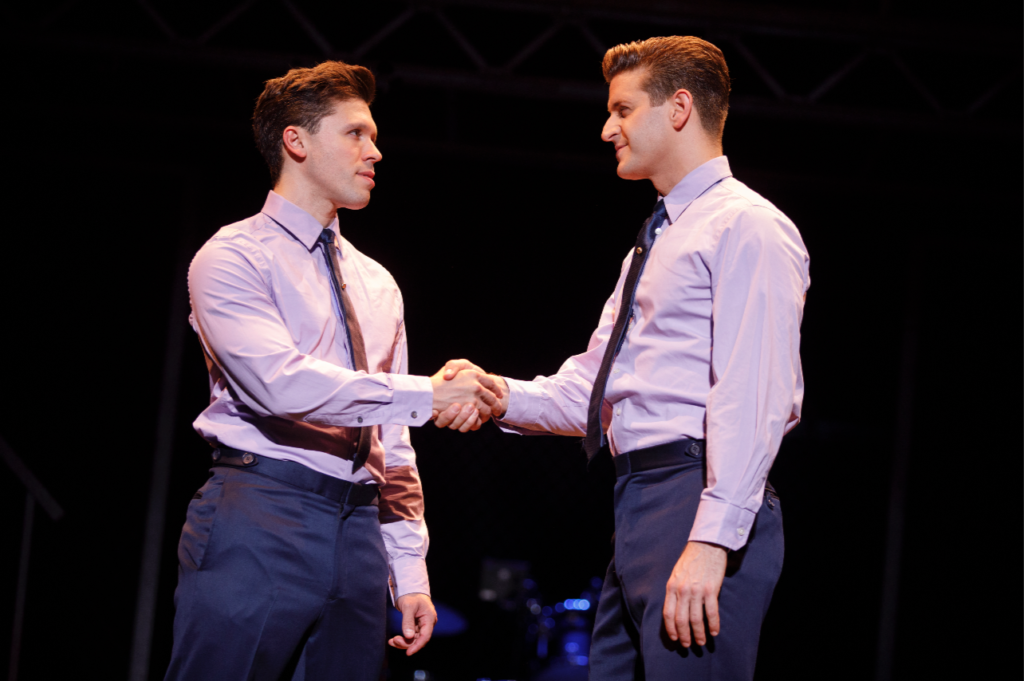 Jersey Boys It all started with a handshake