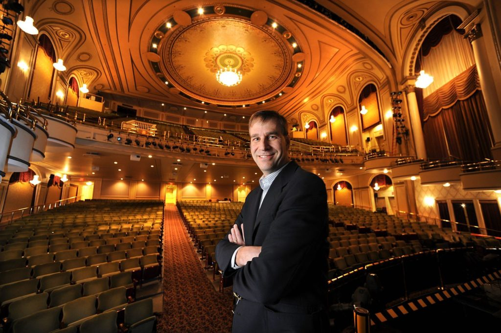 Troy Siebels, president and CEO of The Hanover Theatre.
