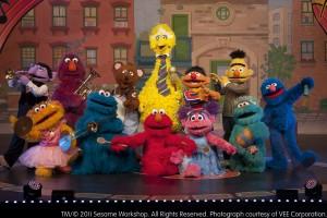 Sesame Street Live- Elmo Makes Music
